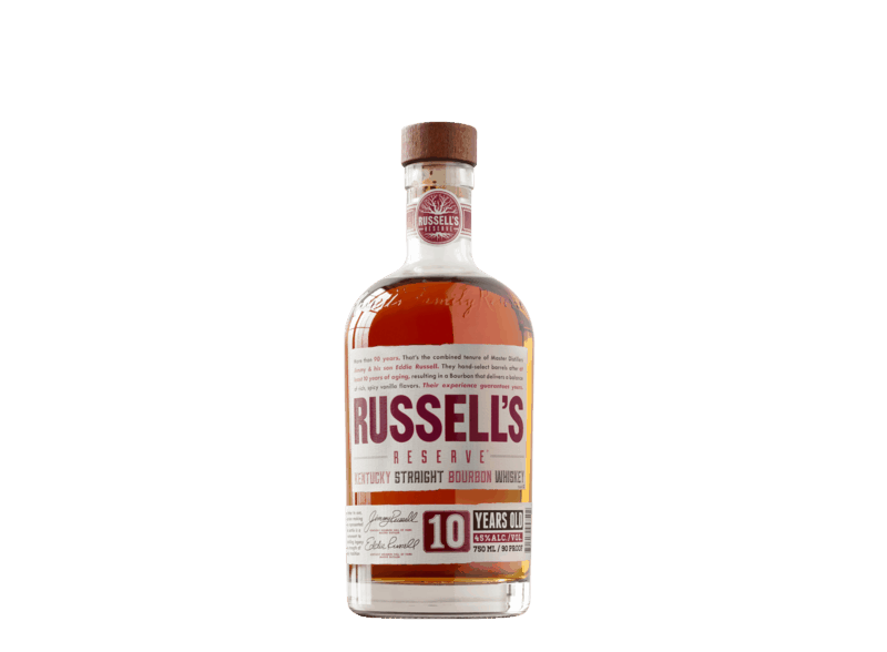 $3.00 for Russell's Reserve 10 Year Old Bourbon. Offer available at multiple stores.