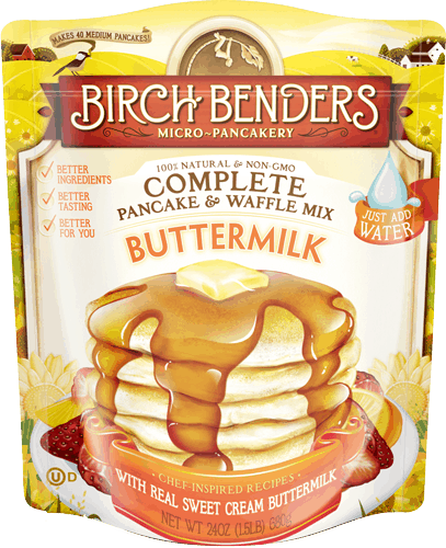 $0.25 for Birch Benders® Pancake and Waffle Mix (expiring on Wednesday, 04/04/2018). Offer available at multiple stores.