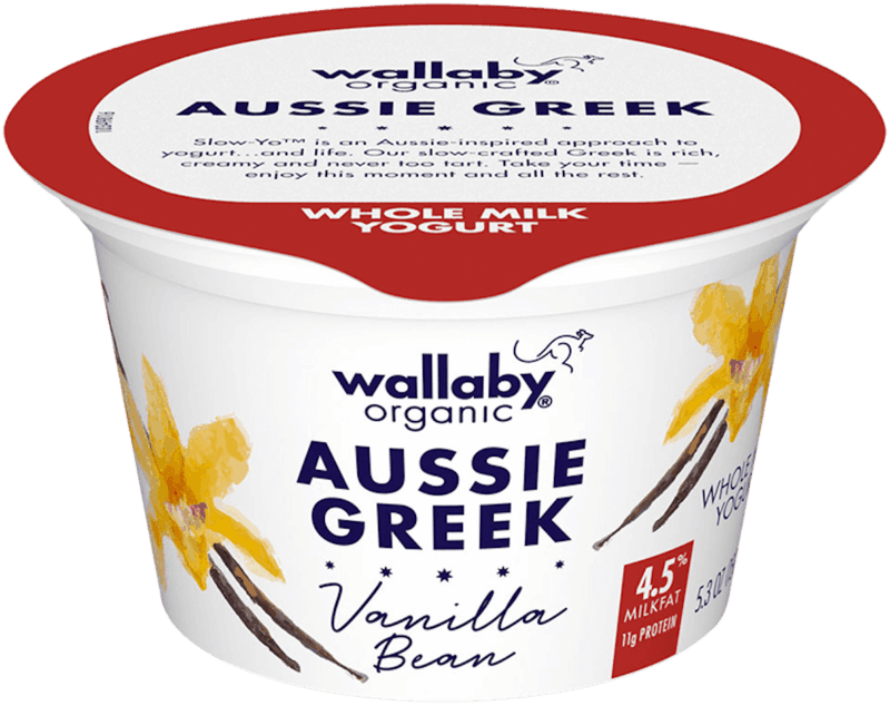 $1.00 for Wallaby Organic Aussie Greek Yogurt. Offer available at Whole Foods Market®.
