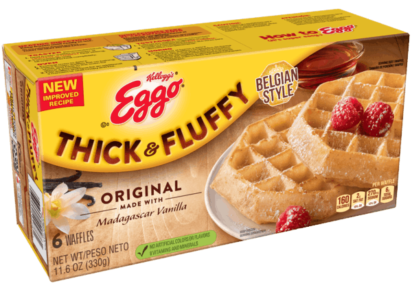 $0.50 for Eggo® Thick & Fluffy Waffles (expiring on Friday, 11/02/2018). Offer available at Walmart.