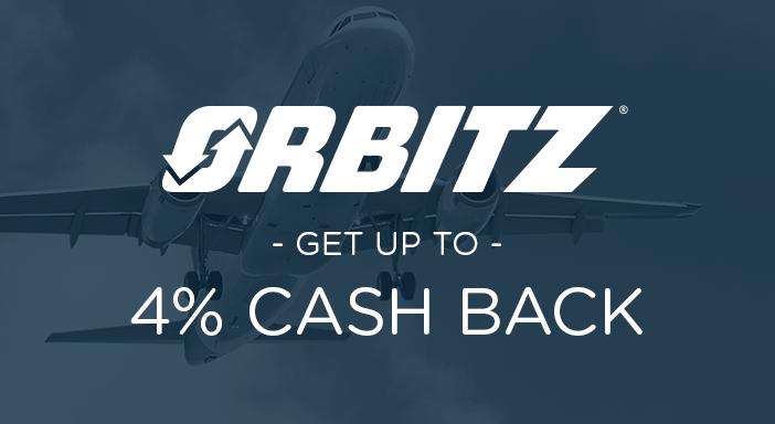 $0.00 for Orbitz (expiring on Wednesday, 02/01/2023). Offer available at Orbitz.