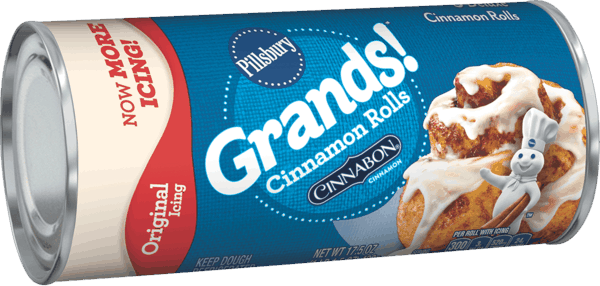 $0.40 for Pillsbury™ Cinnamon Rolls (expiring on Monday, 02/05/2018). Offer available at Walmart.