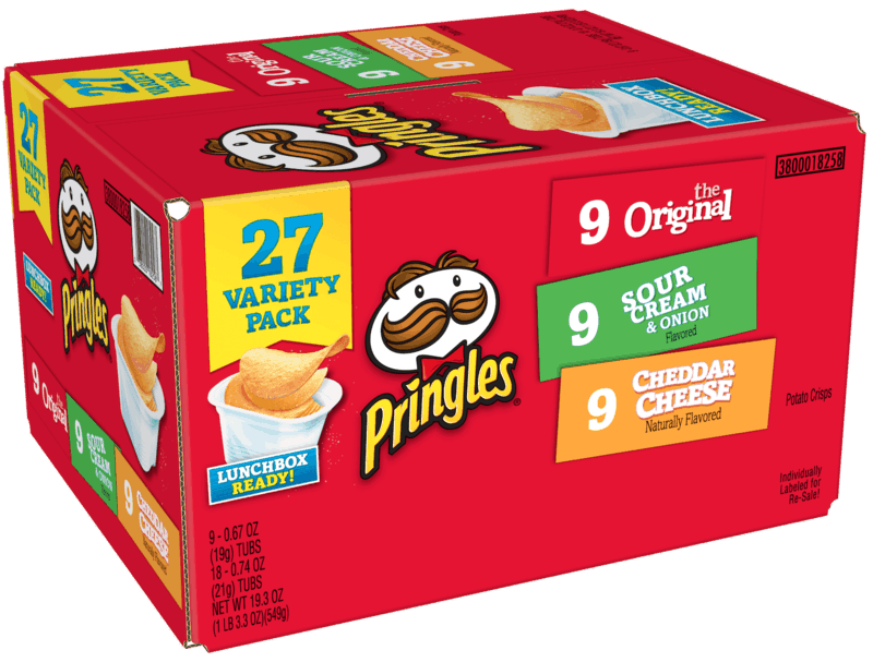 $1.00 for Pringles® (expiring on Saturday, 05/02/2020). Offer available at Walmart.