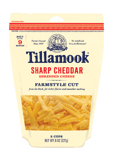 $1.00 for Tillamook® Farmstyle Cut Shredded Cheese (expiring on Wednesday, 04/26/2017). Offer available at multiple stores.