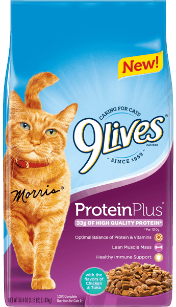 $1.00 for 9Lives® Cat Food (expiring on Friday, 02/02/2018). Offer available at Walmart.