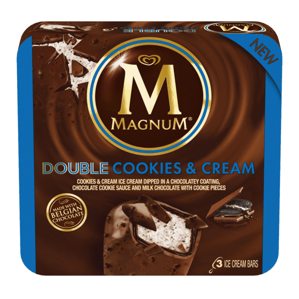 $0.75 for Magnum® Ice Cream Bars (expiring on Sunday, 12/31/2017). Offer available at Walmart.