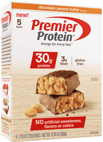 $1.00 for Premier Protein® Bar. Offer available at Walmart.