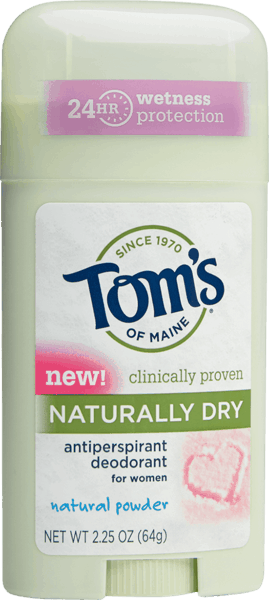 $1.50 for Tom's of Maine® Deodorant (expiring on Thursday, 08/02/2018). Offer available at Whole Foods Market®.