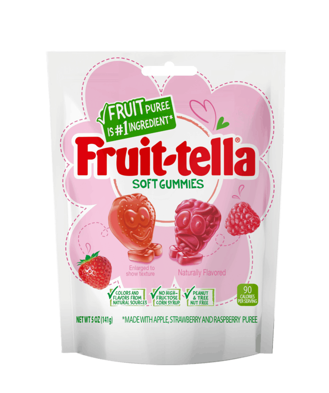 $1.00 for Fruit-tella Soft Gummies (expiring on Sunday, 05/02/2021). Offer available at Walmart, Walmart Pickup & Delivery.