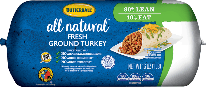 $0.75 for Butterball Fresh Ground Turkey Rolls (expiring on Monday, 01/31/2022). Offer available at Stater Bros.