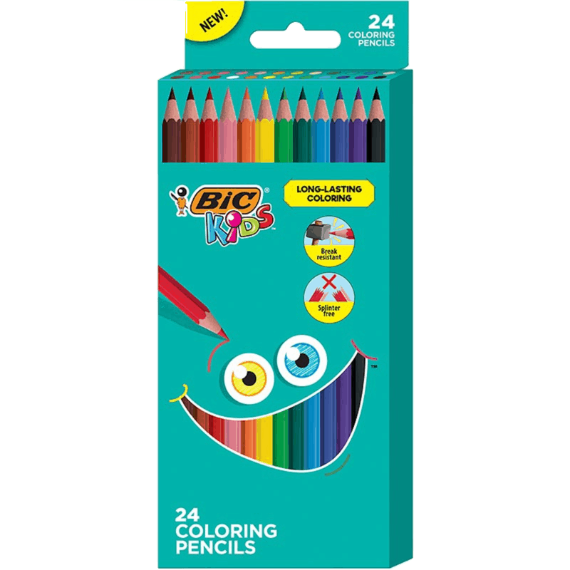 $1.00 for BIC Kids Long-Lasting Coloring Pencils (expiring on Thursday, 04/23/2020). Offer available at Walmart, Walmart Grocery.