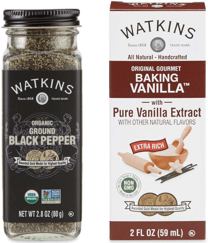 $1.00 for Watkins Spices & Extracts. Offer available at multiple stores.