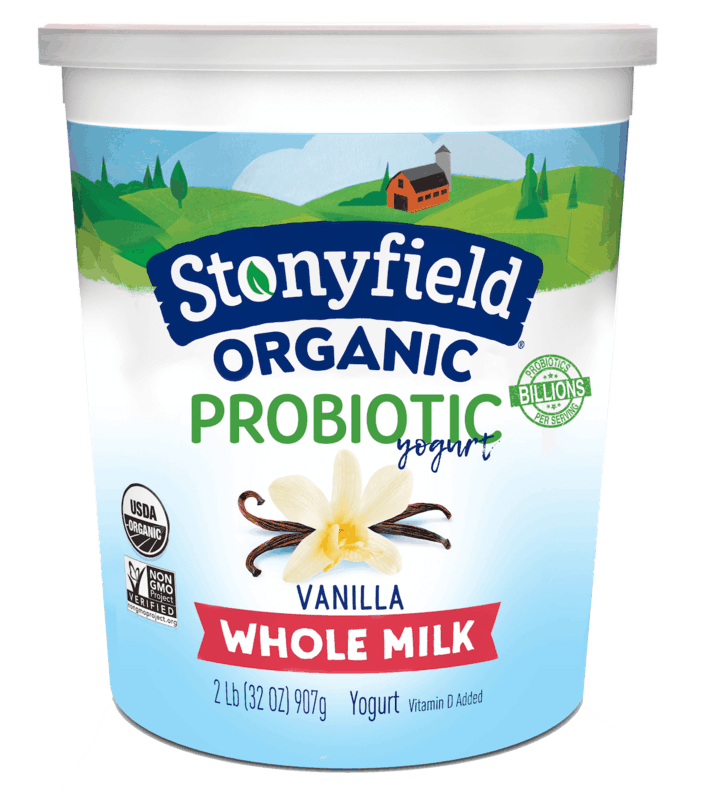 $1.00 for Stonyfield® Organic 32oz Yogurt. Offer available at multiple stores.