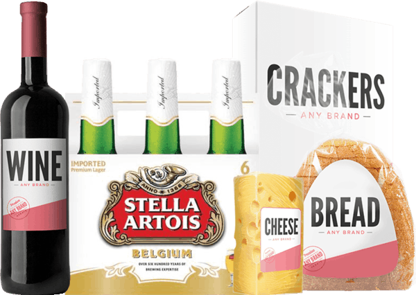 $3.00 for Stella Artois® AND Any Brand Gourmet Cheese, Crackers, Bakery Bread, OR Wine Combo (expiring on Sunday, 09/03/2017). Offer available at multiple stores.