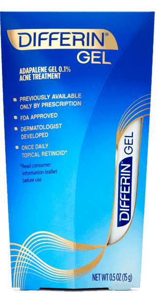 $2.00 for Differin® Gel Acne Treatment (expiring on Thursday, 12/20/2018). Offer available at Target, Walmart, Walgreens, CVS Pharmacy.
