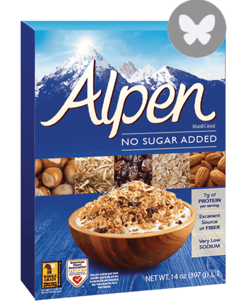 $1.00 for Alpen® Cereal (expiring on Wednesday, 05/02/2018). Offer available at multiple stores.