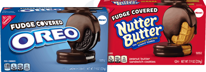 $1.00 for OREO Mint Chocolate Chip or Fudge Covered Oreo Cookies or Fudge Covered Nutter Butter Cookies (expiring on Sunday, 04/12/2020). Offer available at Walmart.