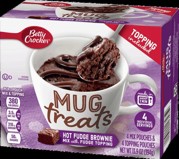 $1.00 for Betty Crocker™ Mug Treats (expiring on Tuesday, 04/30/2019). Offer available at Wegmans.