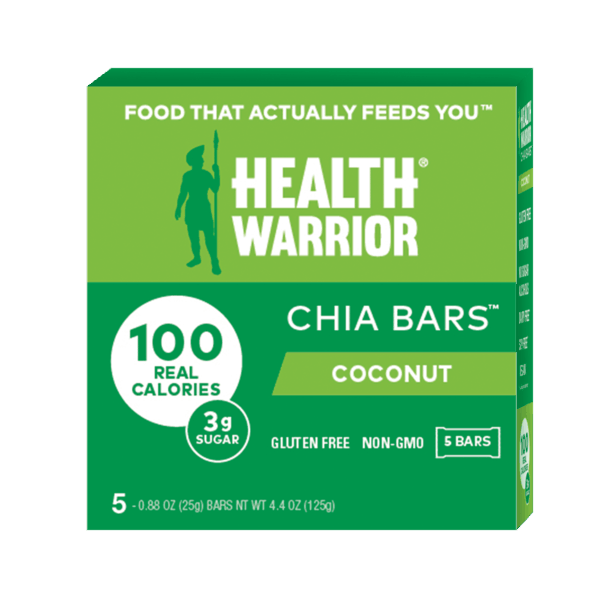 $1.00 for Health Warrior Chia Bars (expiring on Thursday, 05/28/2020). Offer available at multiple stores.