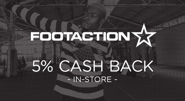 $0.00 for Footaction (expiring on Monday, 12/31/2018). Offer available at Footaction.