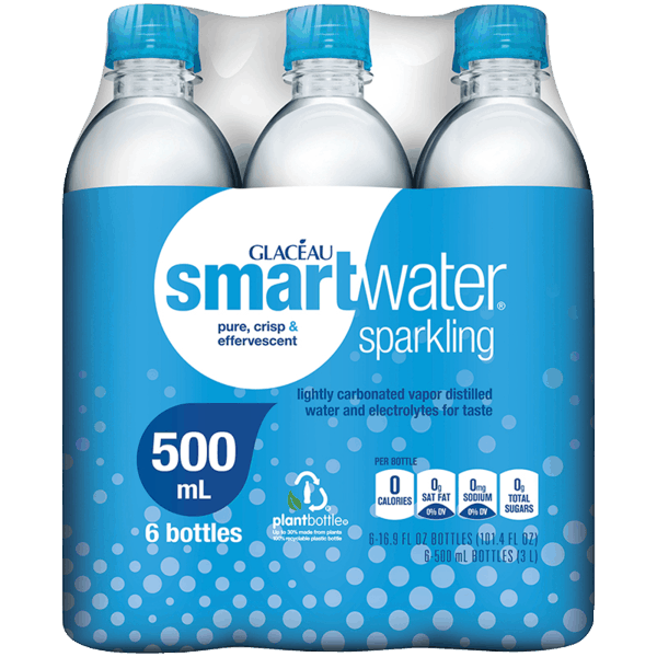 $1.00 for smartwater® sparkling (expiring on Tuesday, 10/02/2018). Offer available at multiple stores.