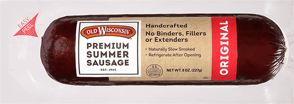 $0.50 for Old Wisconsin® Summer Sausage (expiring on Saturday, 06/02/2018). Offer available at multiple stores.