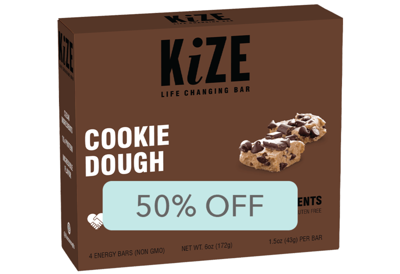 $3.99 for KiZE Bar Multipack (expiring on Tuesday, 04/14/2020). Offer available at Target.