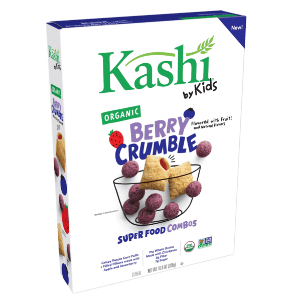 $1.00 for Kashi® by Kids Cereal (expiring on Tuesday, 04/02/2019). Offer available at multiple stores.
