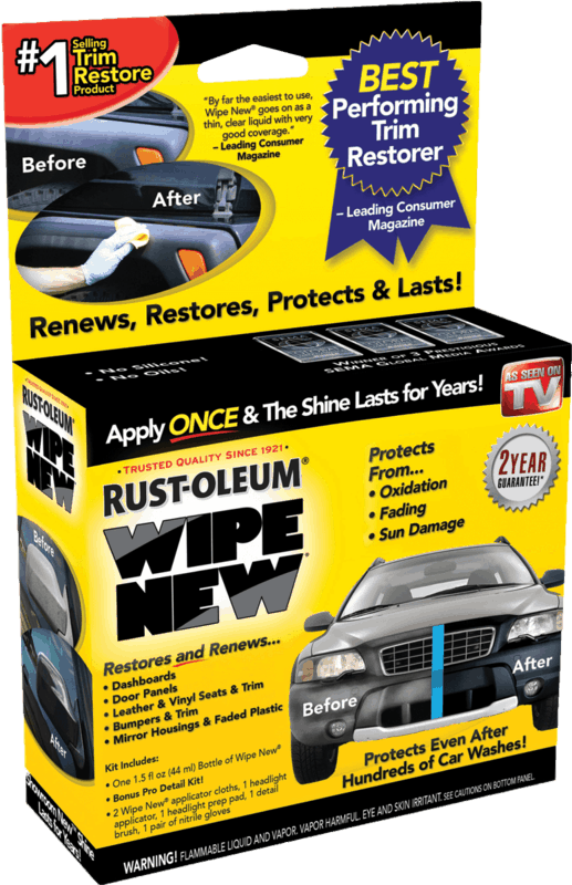 $2.00 for Rust-Oleum Wipe New Trim Restore. Offer available at Walmart.