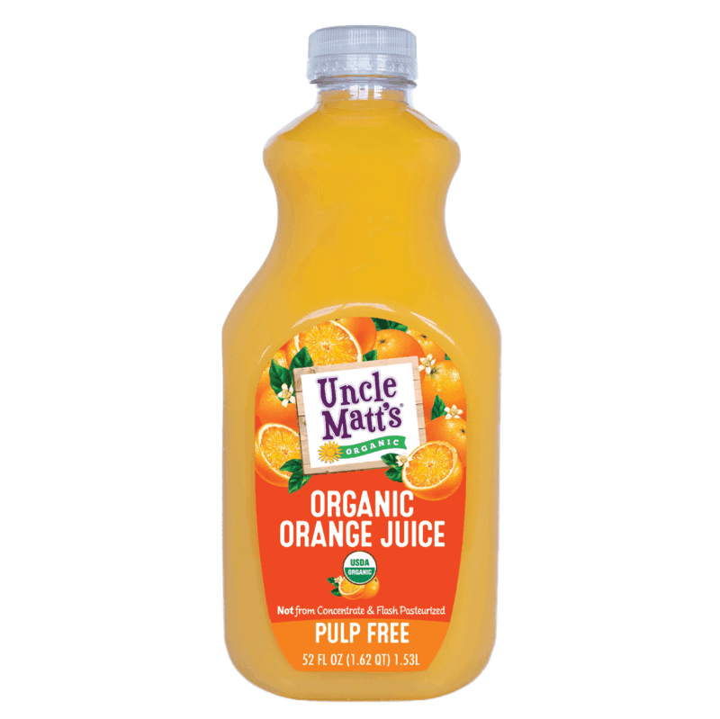 $1.25 for Uncle Matt's® Organic Juices (expiring on Monday, 09/02/2019). Offer available at Target.
