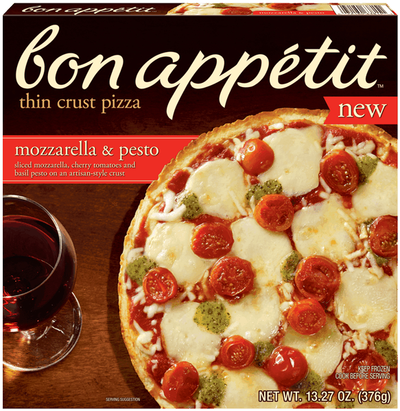 $1.00 for BON APPÉTIT™ Thin Crust Pizza (expiring on Tuesday, 04/04/2017). Offer available at multiple stores.