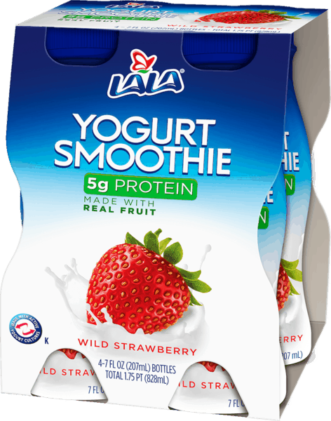 $0.75 for LALA® Yogurt Smoothies (expiring on Friday, 09/28/2018). Offer available at Walmart.