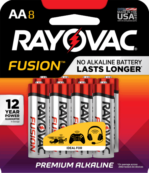 $2.00 for Rayovac® Batteries. Offer available at Walmart.