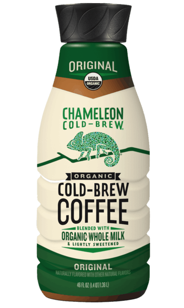 $2.00 for Chameleon Cold-Brew Blended With Organic Whole Milk (expiring on Wednesday, 03/20/2019). Offer available at Publix, H-E-B, Harris Teeter, Hy-Vee.