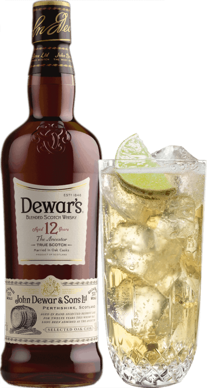 $2.00 for Dewar's 12 Year Scotch Whisky (expiring on Saturday, 04/11/2020). Offer available at Any Restaurant, Any Bar.