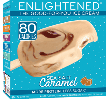 $1.25 for Enlightened® The Good-For-You Ice Cream™ Bars. Offer available at multiple stores.