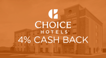 $0.00 for Choice Hotels (expiring on Saturday, 10/31/2020). Offer available at Choice Hotels.