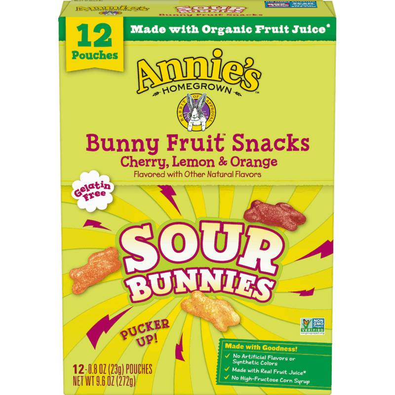 $2.00 for Annie's Fruit Snacks (expiring on Thursday, 04/01/2021). Offer available at Walmart, Walmart Pickup & Delivery.