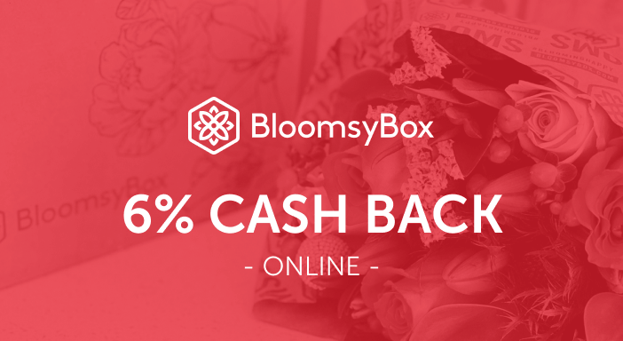 $0.00 for BloomsyBox (expiring on Friday, 10/31/2025). Offer available at BloomsyBox.