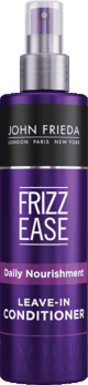 $1.00 for John Frieda Frizz Ease Shampoo, Conditioner, or Leave-In Conditioner (expiring on Saturday, 09/11/2021). Offer available at multiple stores.