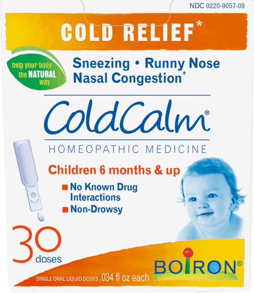 $1.00 for Boiron® Coldcalm® liquid dose (expiring on Wednesday, 08/01/2018). Offer available at Walgreens, Sprouts Farmers Market.