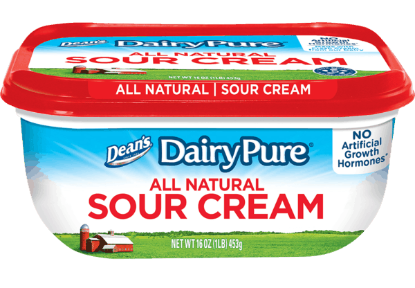 $0.50 for Dean's® DairyPure® Sour Cream (expiring on Thursday, 03/22/2018). Offer available at multiple stores.
