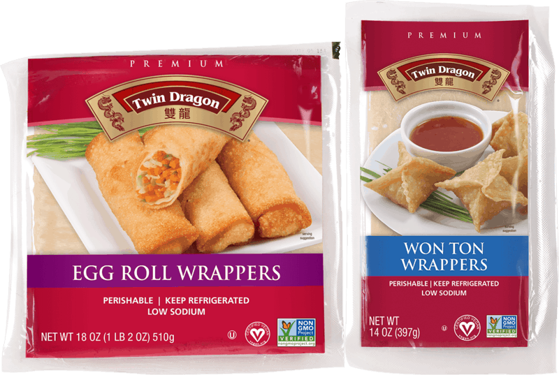 $0.75 for Twin Dragon Vegan Wrappers (expiring on Thursday, 04/02/2020). Offer available at Walmart.