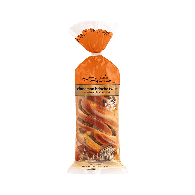 $1.00 for St. Pierre Brioche Cinnamon Twists (expiring on Monday, 05/31/2021). Offer available at multiple stores.
