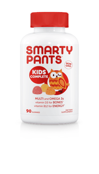 $1.00 for SmartyPants® Kid's Complete (expiring on Wednesday, 09/25/2019). Offer available at Target, Walmart.