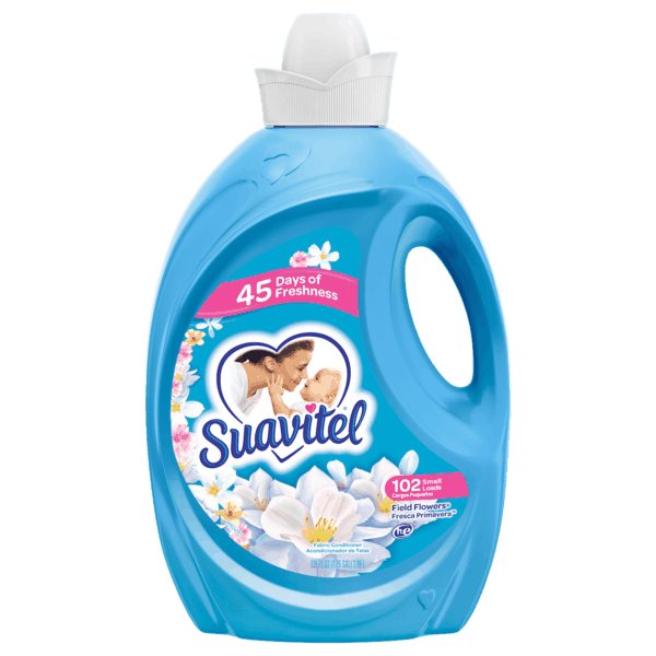 $0.50 for Suavitel® Liquid Fabric Softener (expiring on Monday, 12/31/2018). Offer available at Walmart.