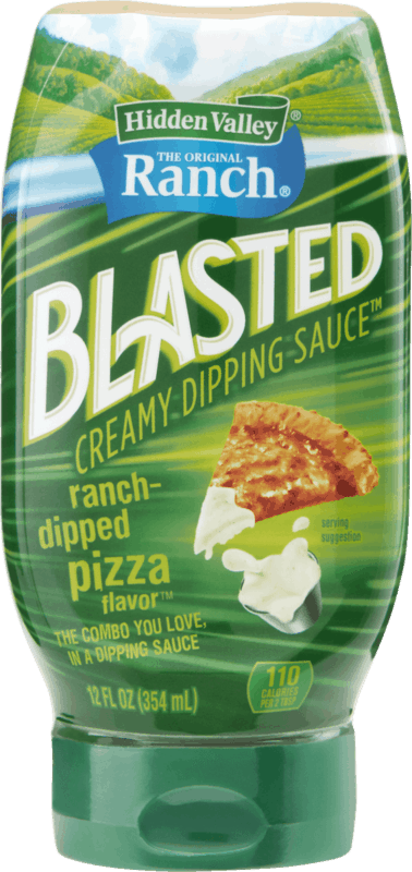 $1.00 for Hidden Valley Ranch® Ranch-Dipped Pizza Blasted Dipping Sauce (expiring on Monday, 03/02/2020). Offer available at Walmart.