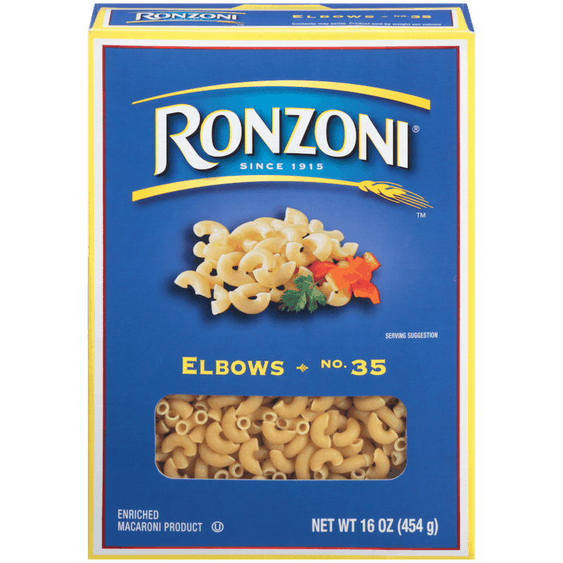 $0.25 for Ronzoni Pasta. Offer available at Walmart, Walmart Pickup & Delivery.