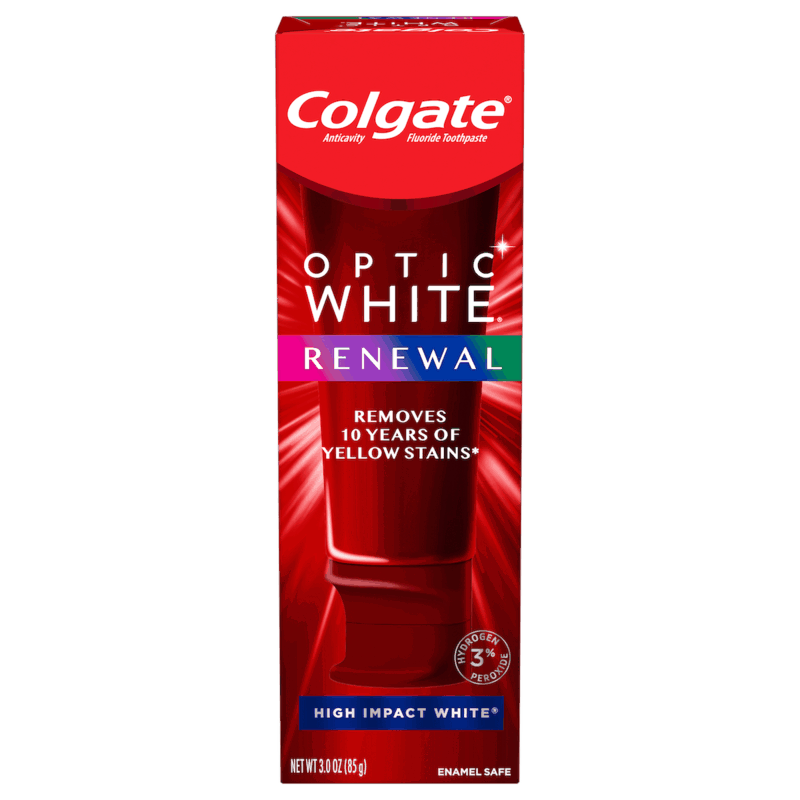$2.00 for Colgate® Optic White® Renewal Toothpaste (expiring on Tuesday, 03/31/2020). Offer available at Target.