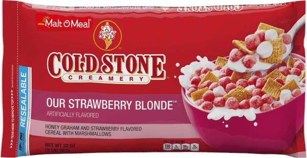 $0.50 for Malt-O-Meal® Cold Stone Creamery™ Our Strawberry Blonde™ (expiring on Thursday, 01/24/2019). Offer available at WinCo Foods.